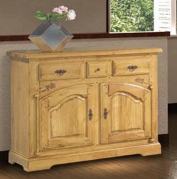 salle manger rustique ch ne massif roanne meubles bois massif. Black Bedroom Furniture Sets. Home Design Ideas