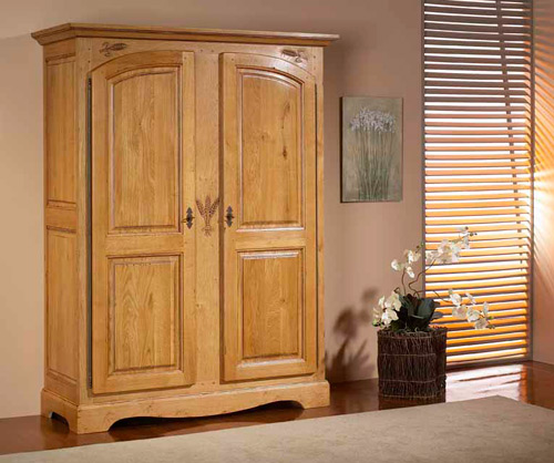 meubles chambre rustique ardoise motif pi meubles bois massif. Black Bedroom Furniture Sets. Home Design Ideas