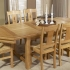 Table en chene Ardoise
