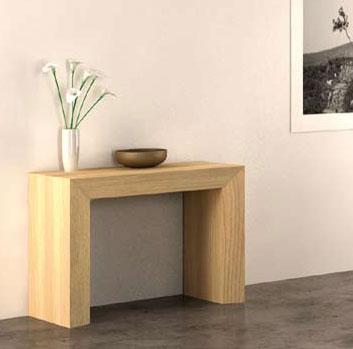 salle a manger extensible bali en ch ne massif meubles bois massif. Black Bedroom Furniture Sets. Home Design Ideas