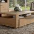 Table basse plateau bois Bolero