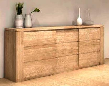 Salle manger figaro en ch ne massif meubles bois massif for Salle a manger en chene massif moderne