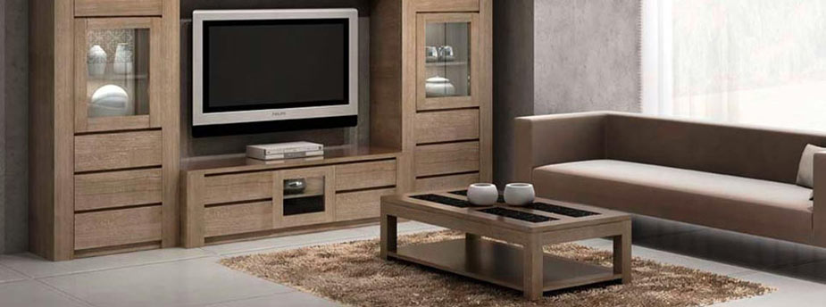 salon figaro en ch ne massif style moderne meubles bois. Black Bedroom Furniture Sets. Home Design Ideas