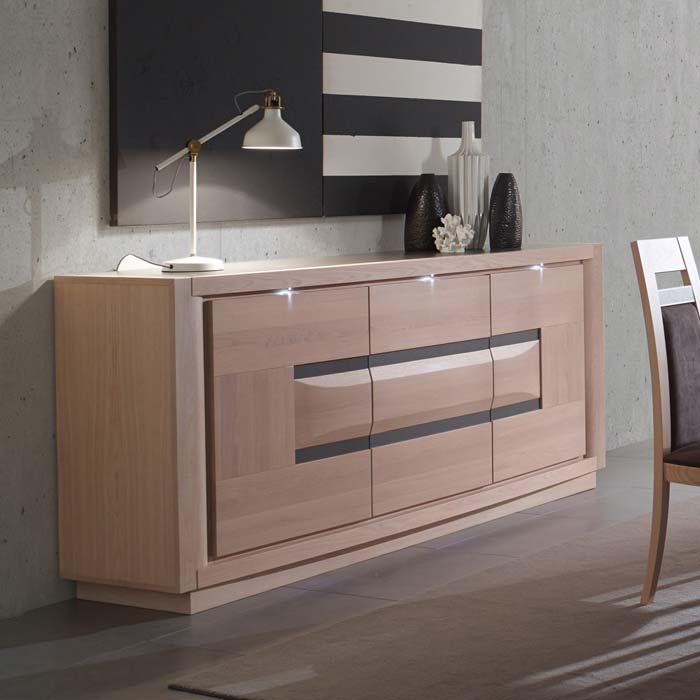 meubles contemporains marina salle manger meubles bois massif. Black Bedroom Furniture Sets. Home Design Ideas