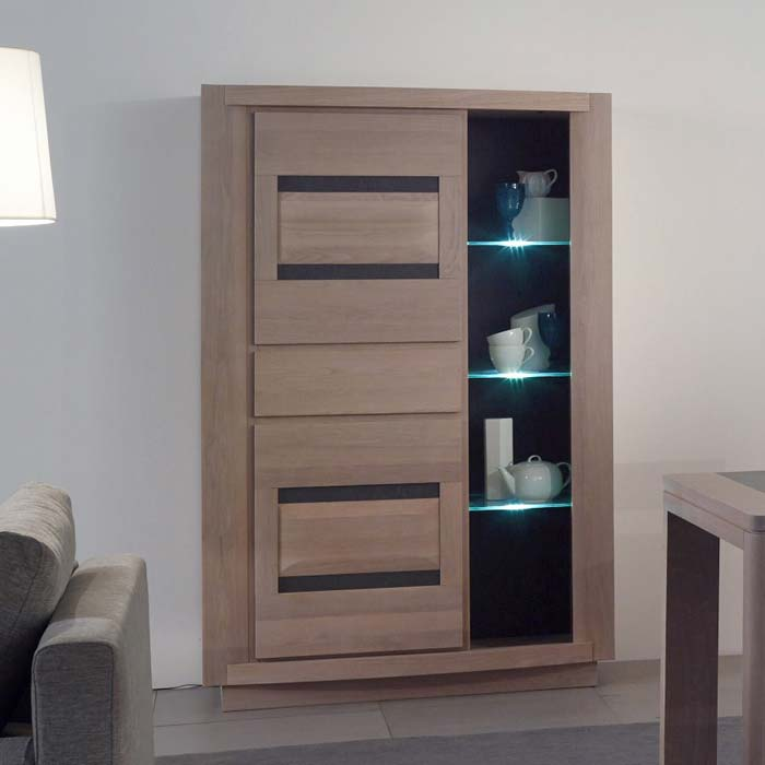salle manger moderne marina en ch ne meubles bois massif. Black Bedroom Furniture Sets. Home Design Ideas