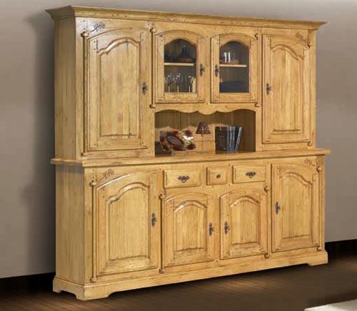 ensemble salle manger rustique roanne meubles bois massif. Black Bedroom Furniture Sets. Home Design Ideas