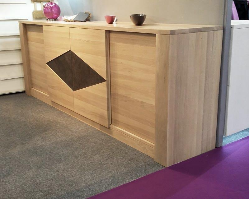 Meubles salle manger naxos en ch ne meubles bois massif for Mobilier salle a manger contemporain