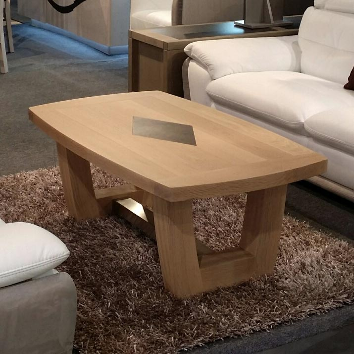 S jour naxos en ch ne c ramique et verre meubles bois - Centre bois massif ...
