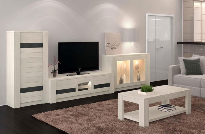 salon contemporain neova ch ne fr ne massif meubles bois massif. Black Bedroom Furniture Sets. Home Design Ideas