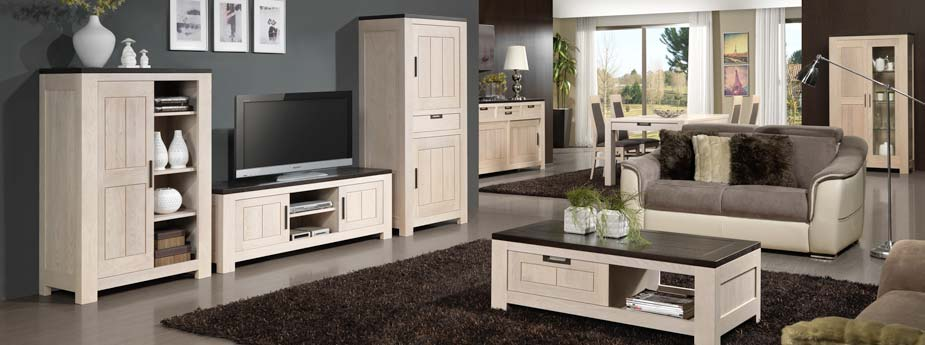 meubles de s jour modernes orion en ch ne meubles bois massif. Black Bedroom Furniture Sets. Home Design Ideas