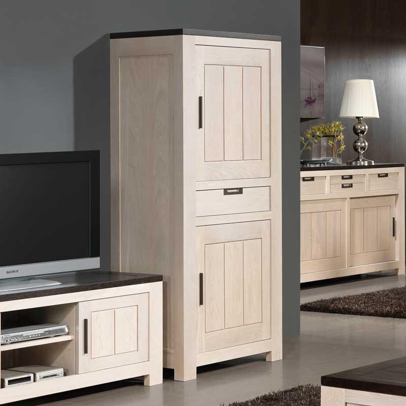 Meubles de s jour modernes orion en ch ne meubles bois for Meuble sejour bois