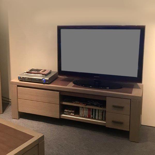 Ensemble salon moderne rom o bois d oregon meubles bois massif - Ensemble salon sejour ...