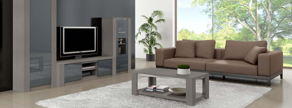 ensemble solf ge pour salon ch ne et verre meubles bois. Black Bedroom Furniture Sets. Home Design Ideas