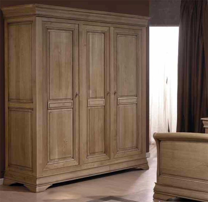 chambre topaze en ch ne ou merisier massif meubles bois massif. Black Bedroom Furniture Sets. Home Design Ideas