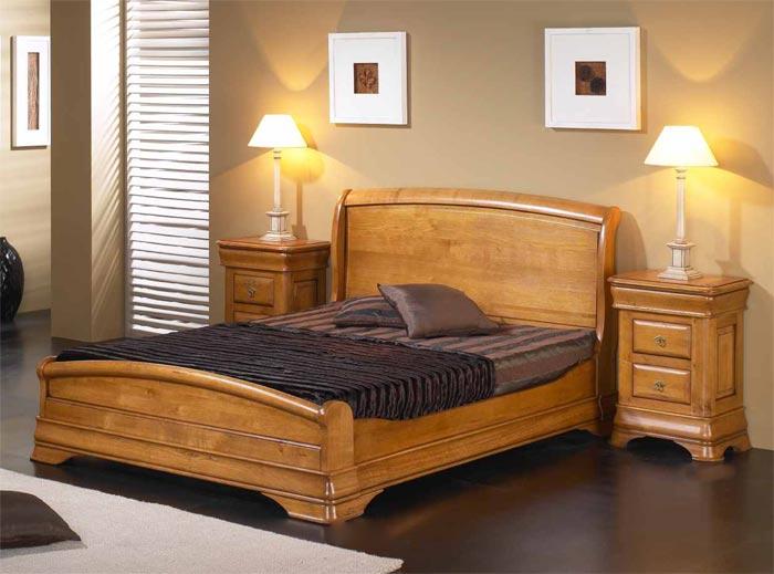 chambre classique topaze en merisier massif meubles bois massif. Black Bedroom Furniture Sets. Home Design Ideas