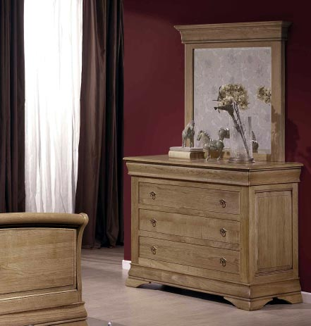 chambre topaze en ch ne ou merisier massif meubles bois massif. Black Bedroom Furniture Sets. Home Design Ideas