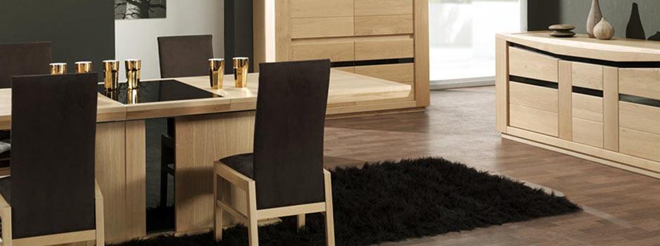 Table de repase Ambre et chaises