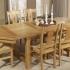 Table en chene Ardoise
