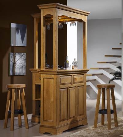 bar d 39 angle rustique bella en ch ne massif meubles bois massif