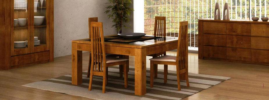Salle à manger en bois, meubles de repas - Meubles Bois Massif