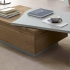 Table basse plateau amovible Lady