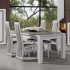 Table et chaise Wapa chene blanc